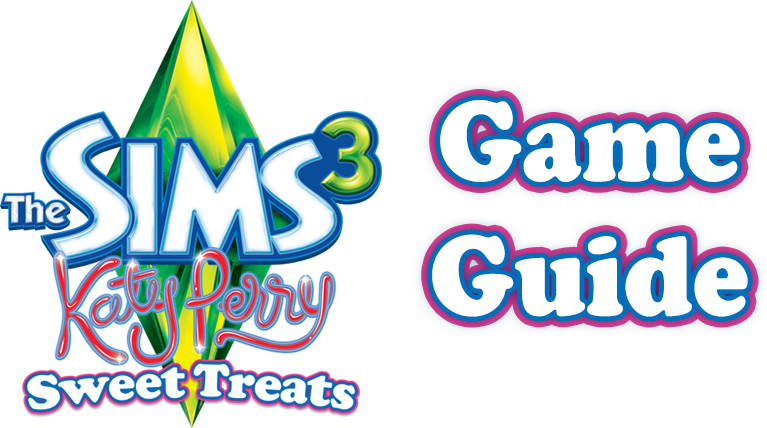 katy perry's sweet treats game guide logo