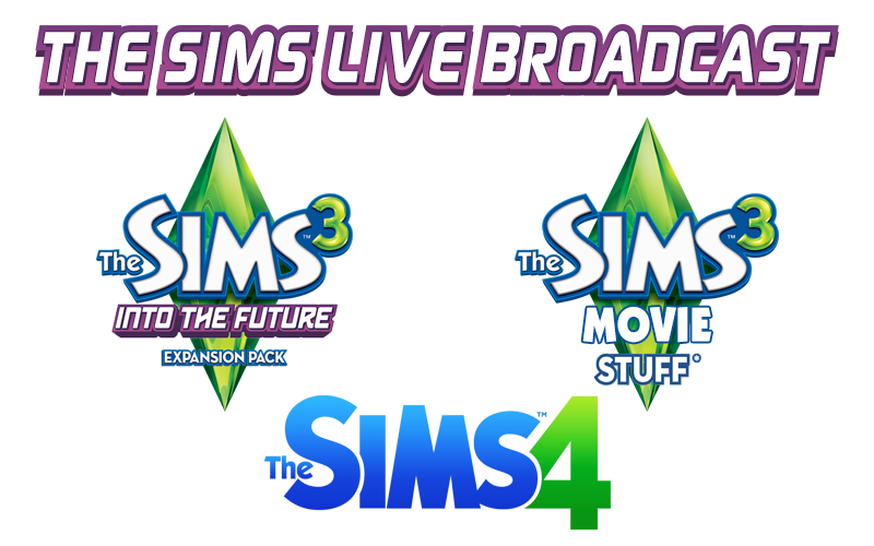 the sims live broadcast