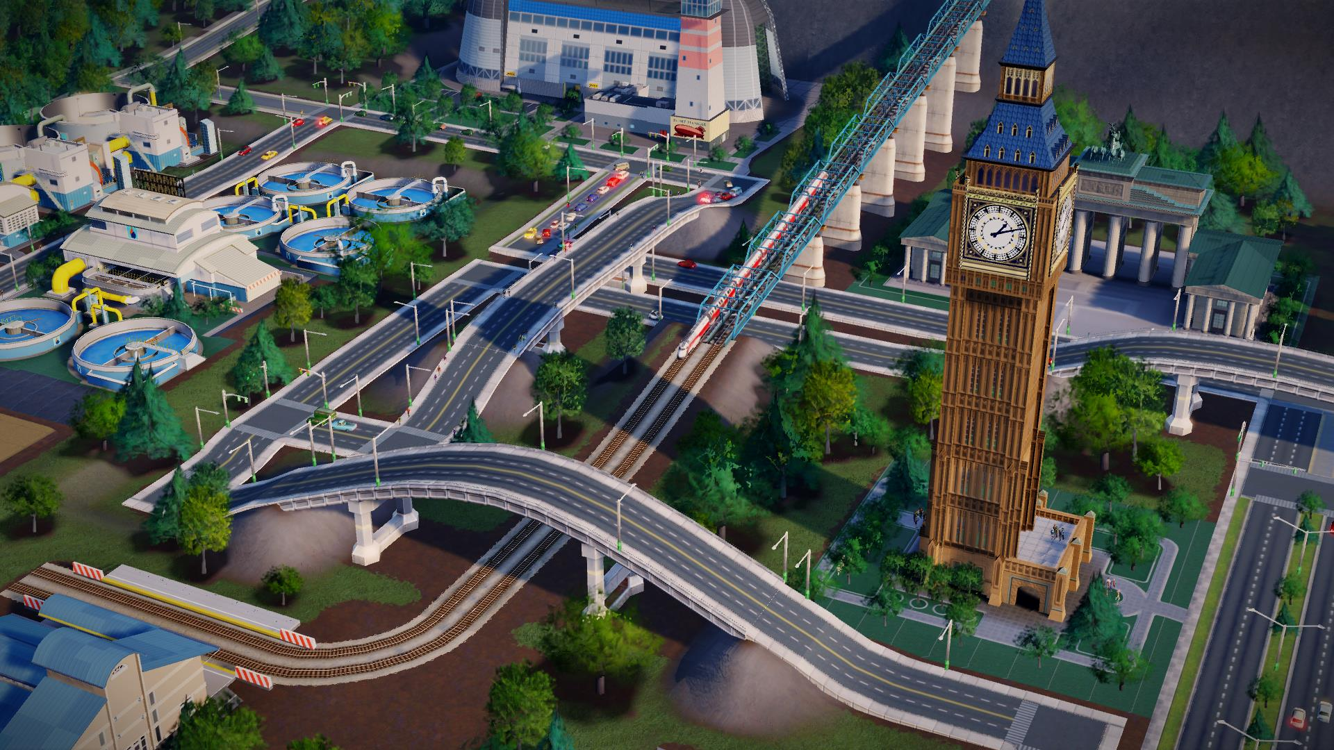 Simcity Raise Lower Road Tool Preview 2