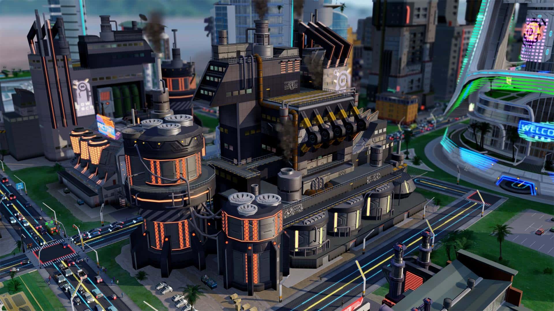 SimCity Cities of Tomorrow: Hybrid City Gallery