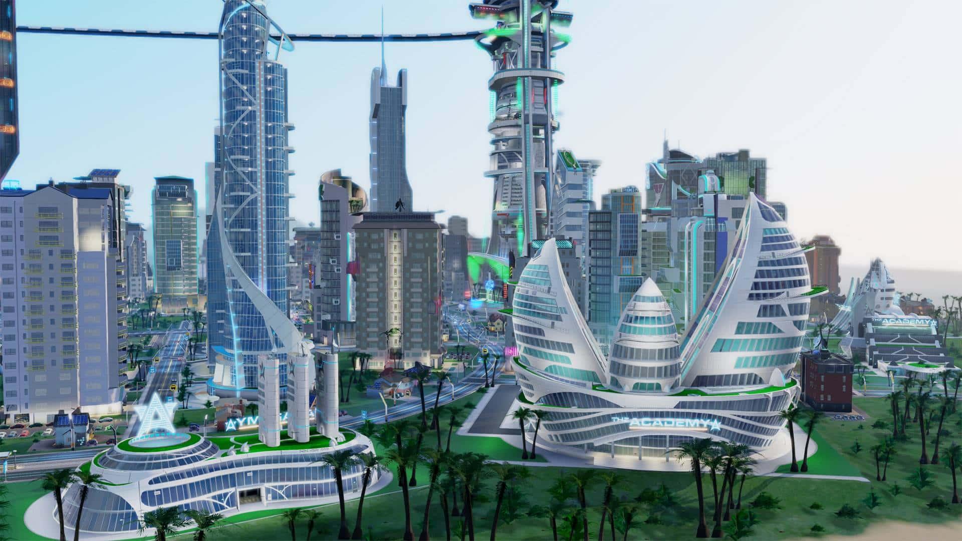 Simcity Cities Of Tomorrow Hybrid City Gallery
