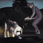 TS3Pets_Console_DogDigging