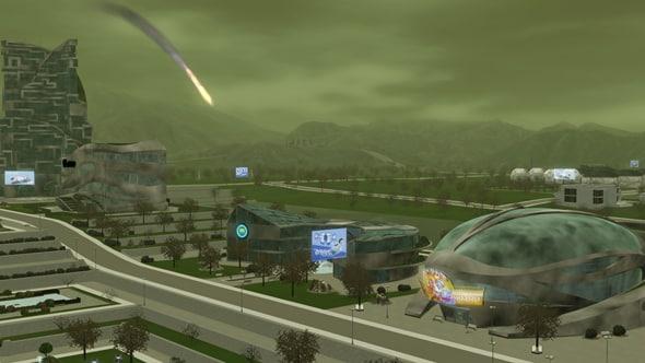 Into The Future Dystopia And Utopia Screens