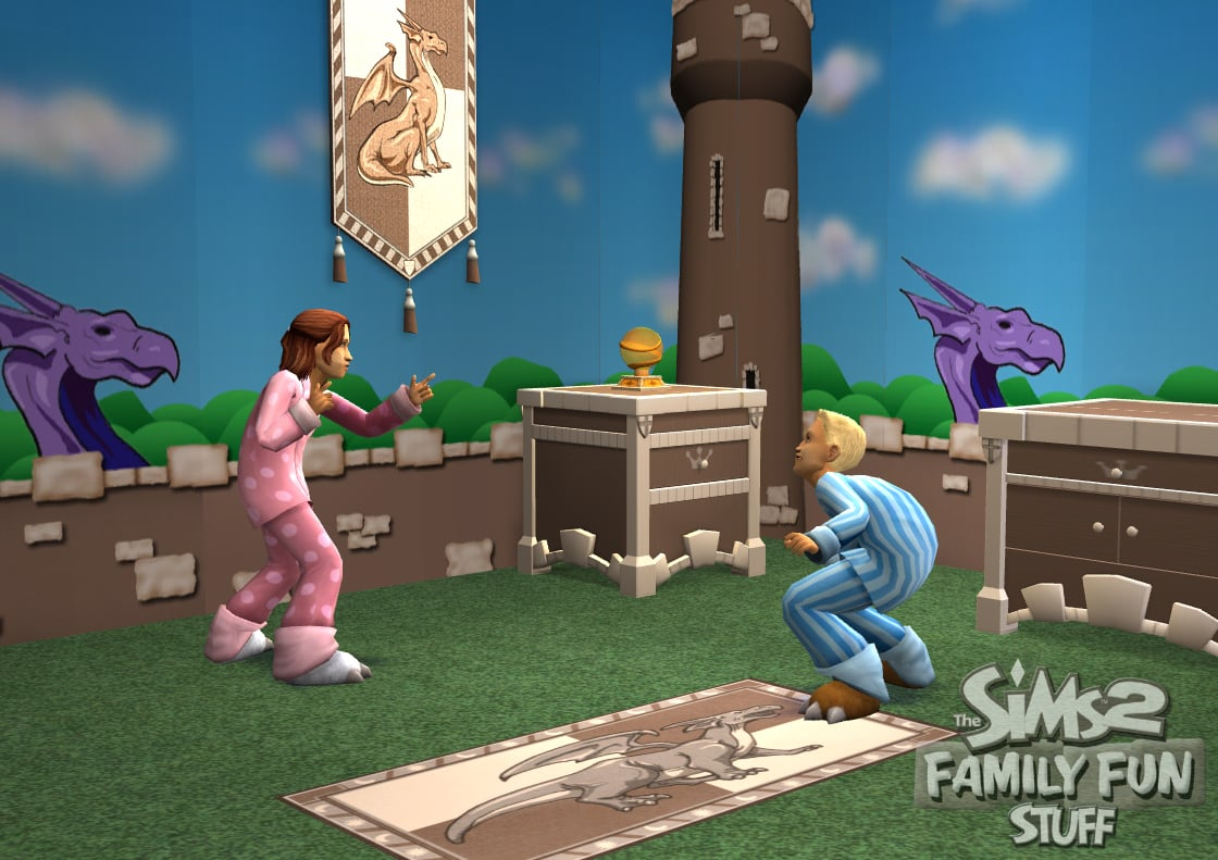 The Sims 2 Family Fun Stuff Assets