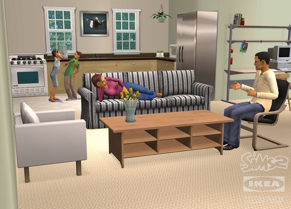 The Sims 2 Ikea Home Stuff Assets