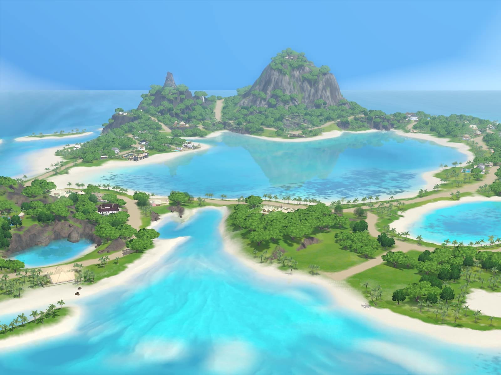 The Sims 3 Sunlit Tides Assets