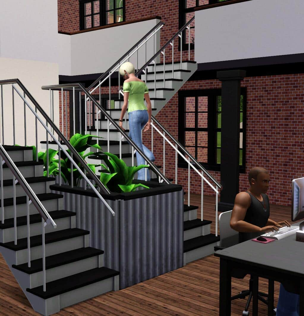 The Sims 3 Store - L-Shaped Stairs Screenshot