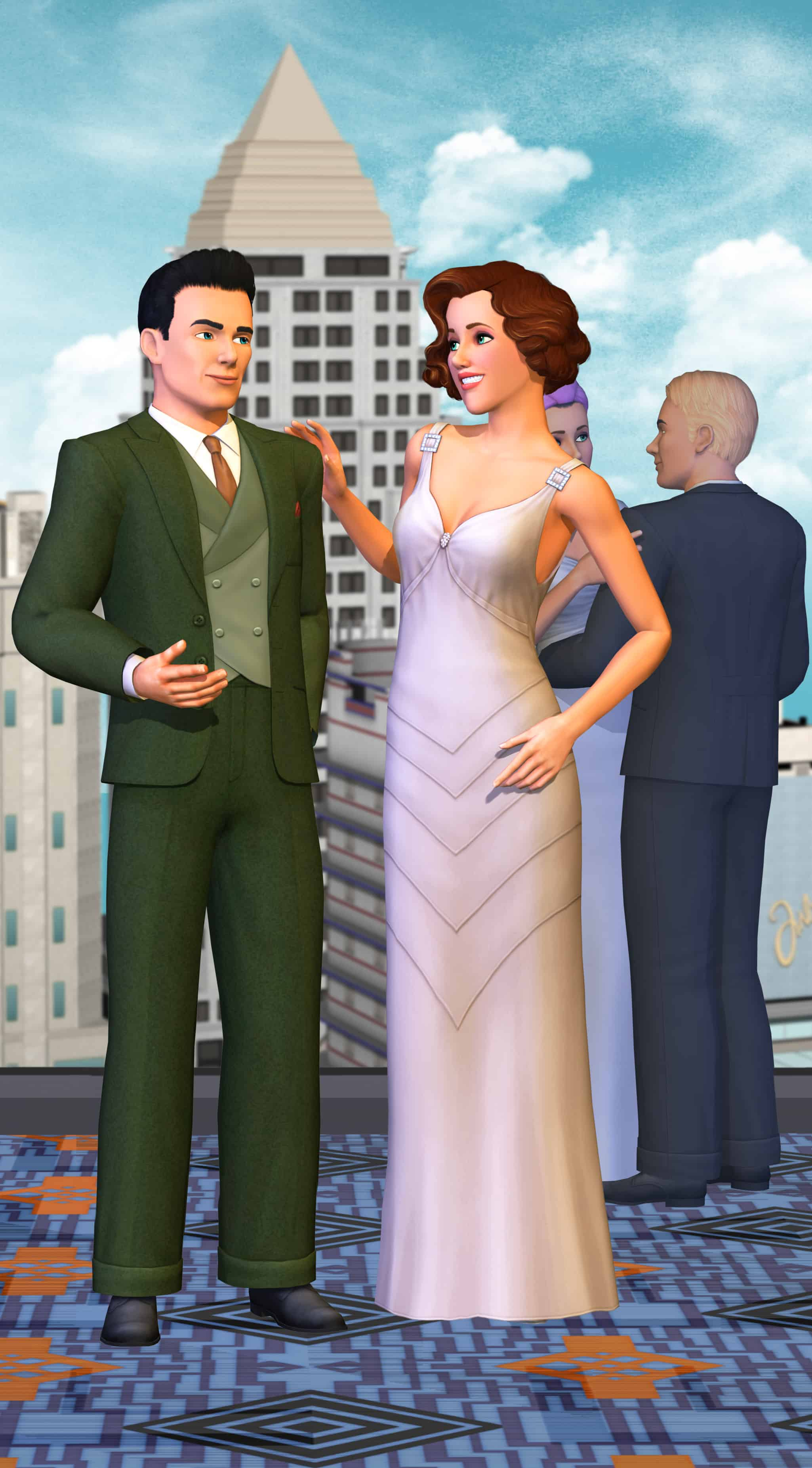The Sims 3 roaring