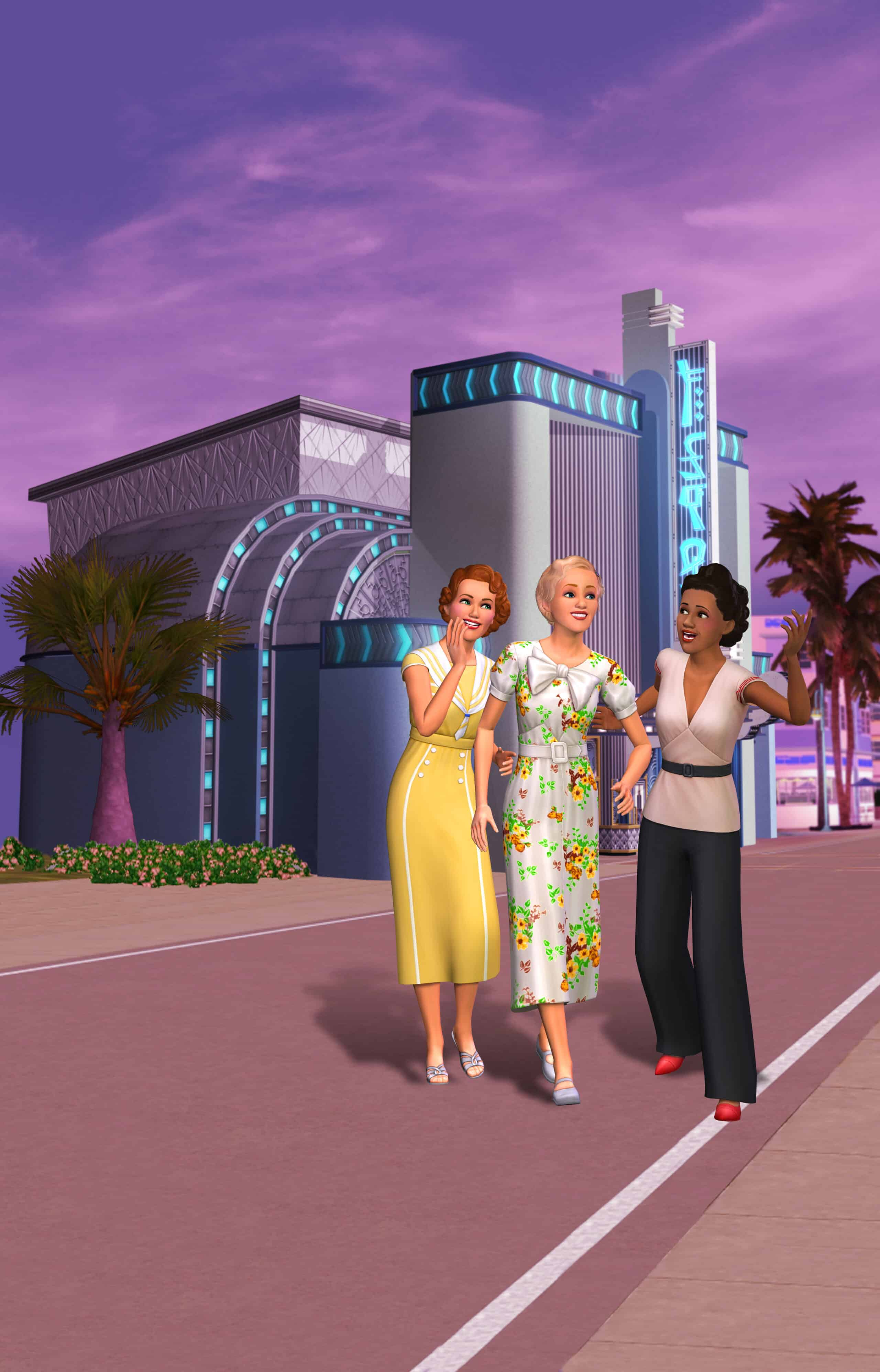 the sims 3 roaring heights assets