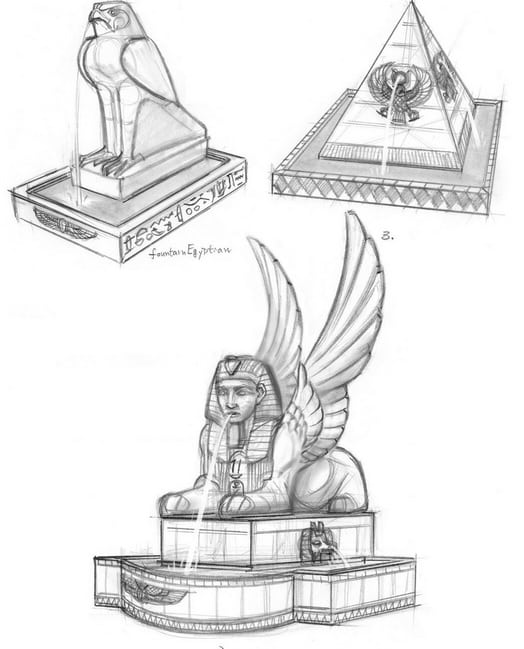 the sims 3 world adventures egypt concept art. Black Bedroom Furniture Sets. Home Design Ideas