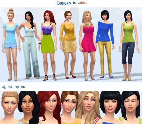 The Sims 4 Gallery Spotlight Week 1