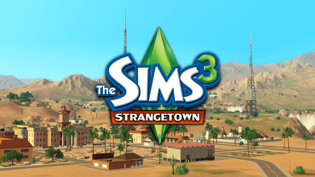 the community the sims 3 version of strangetown by caw blog. Black Bedroom Furniture Sets. Home Design Ideas