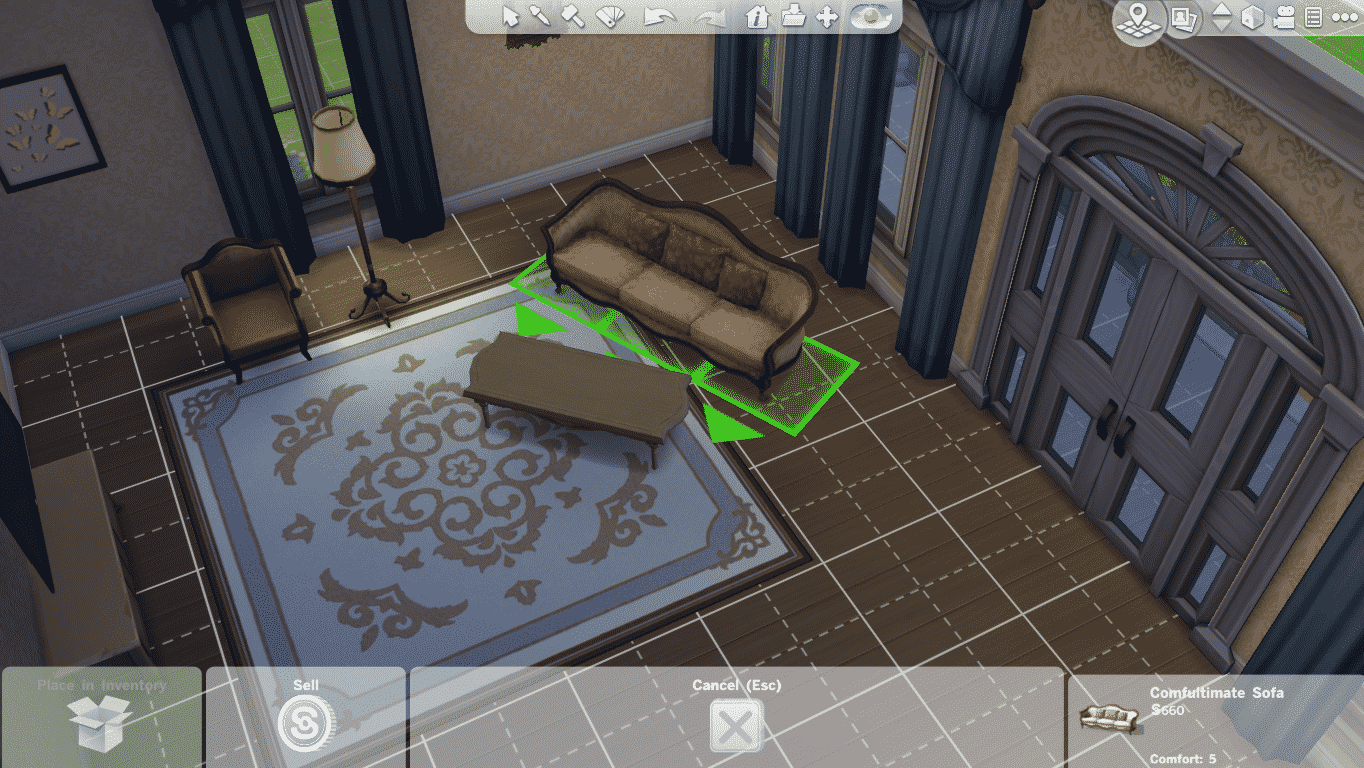 The Sims 4 Tutorial: How to avoid Grids when placing Objects