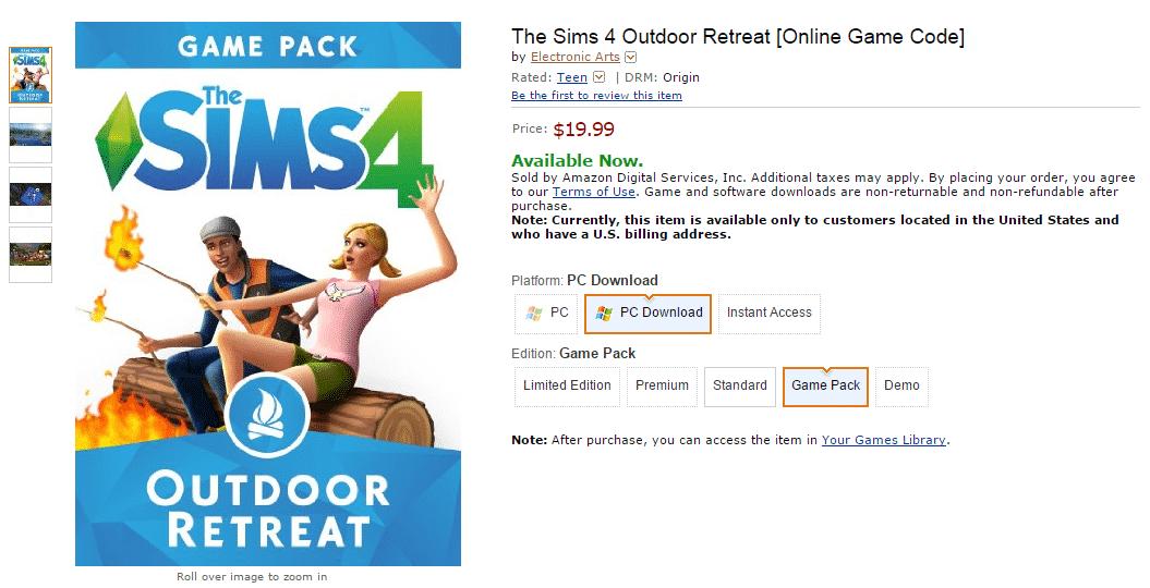 Sims 4 Download Redeem Code Free