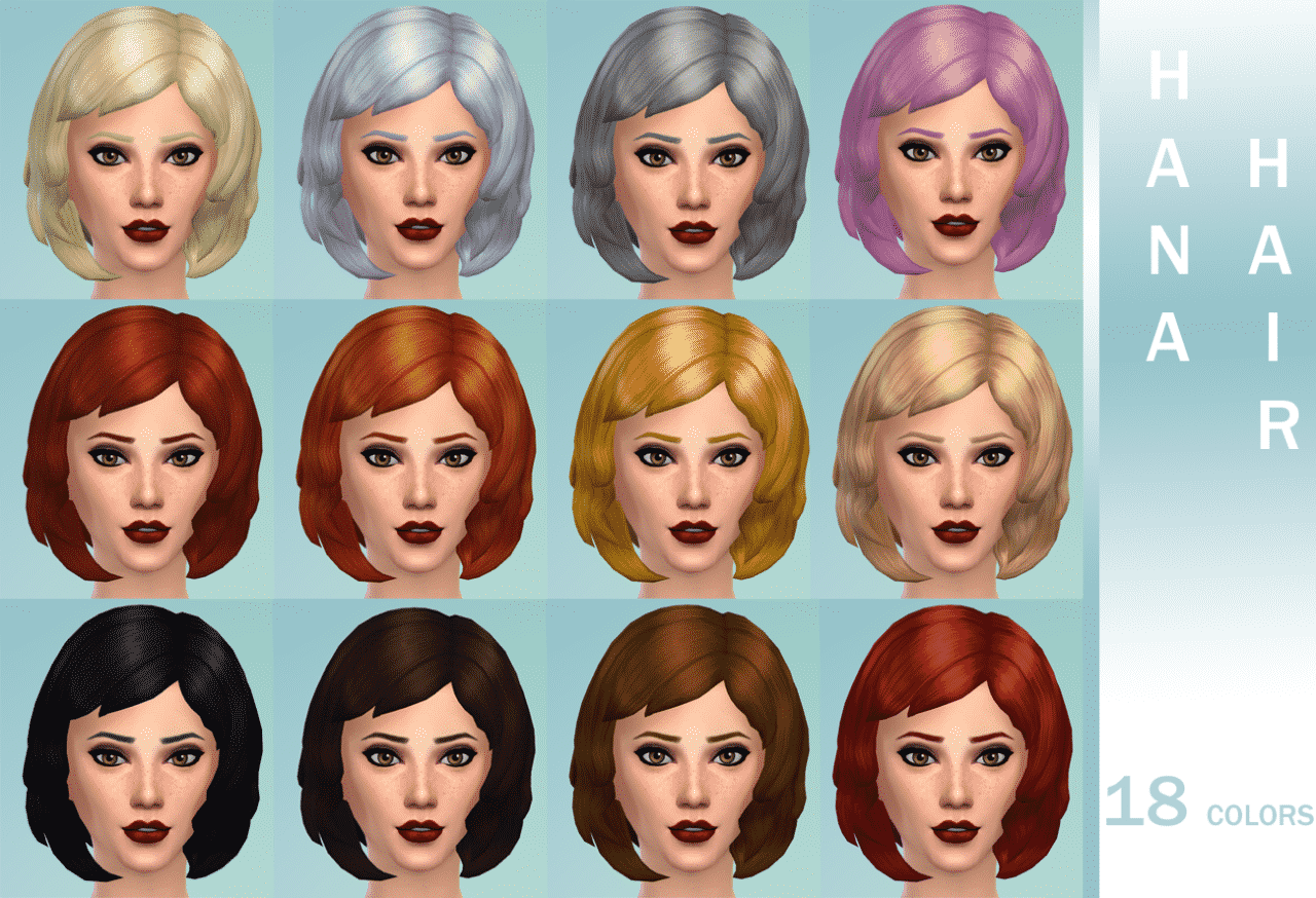 Hairstyle Archives Sims Community