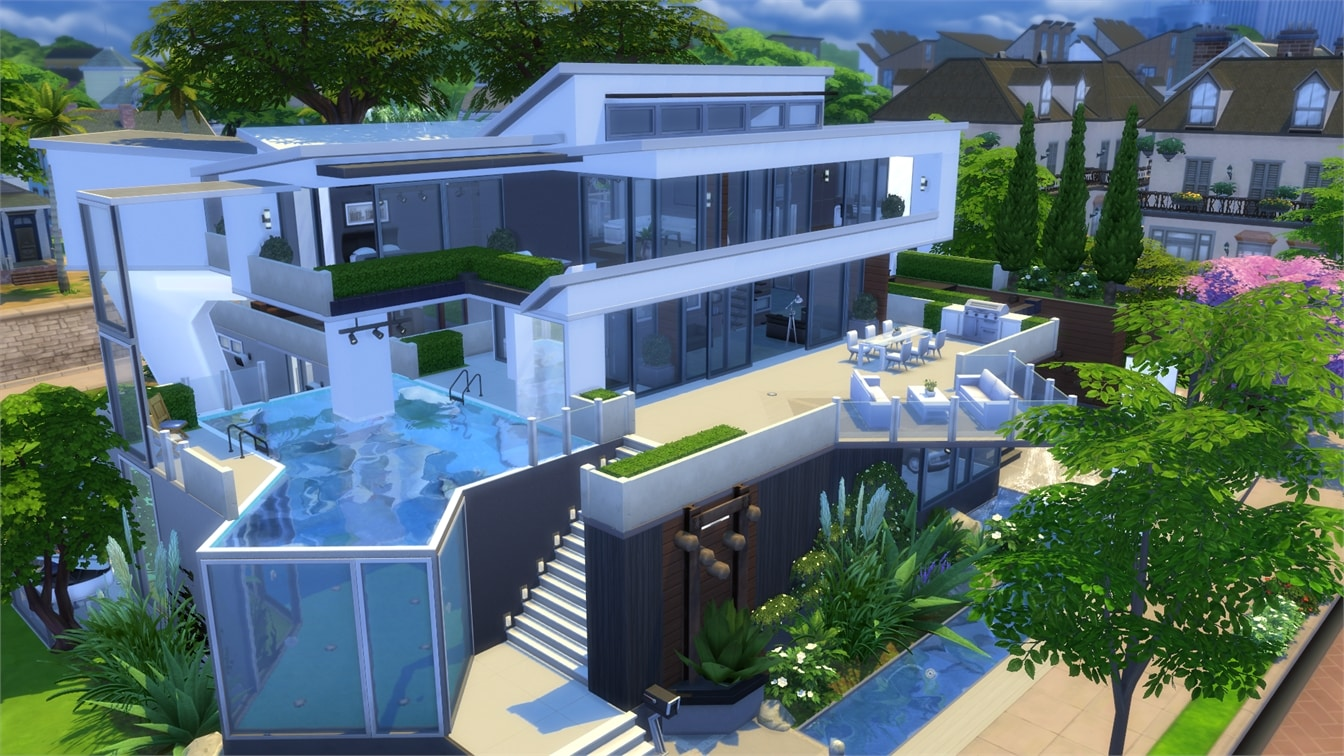 awesome garage gym ideas - The Sims 4 Gallery Spotlight BuildNewcrest Part 2 Sims