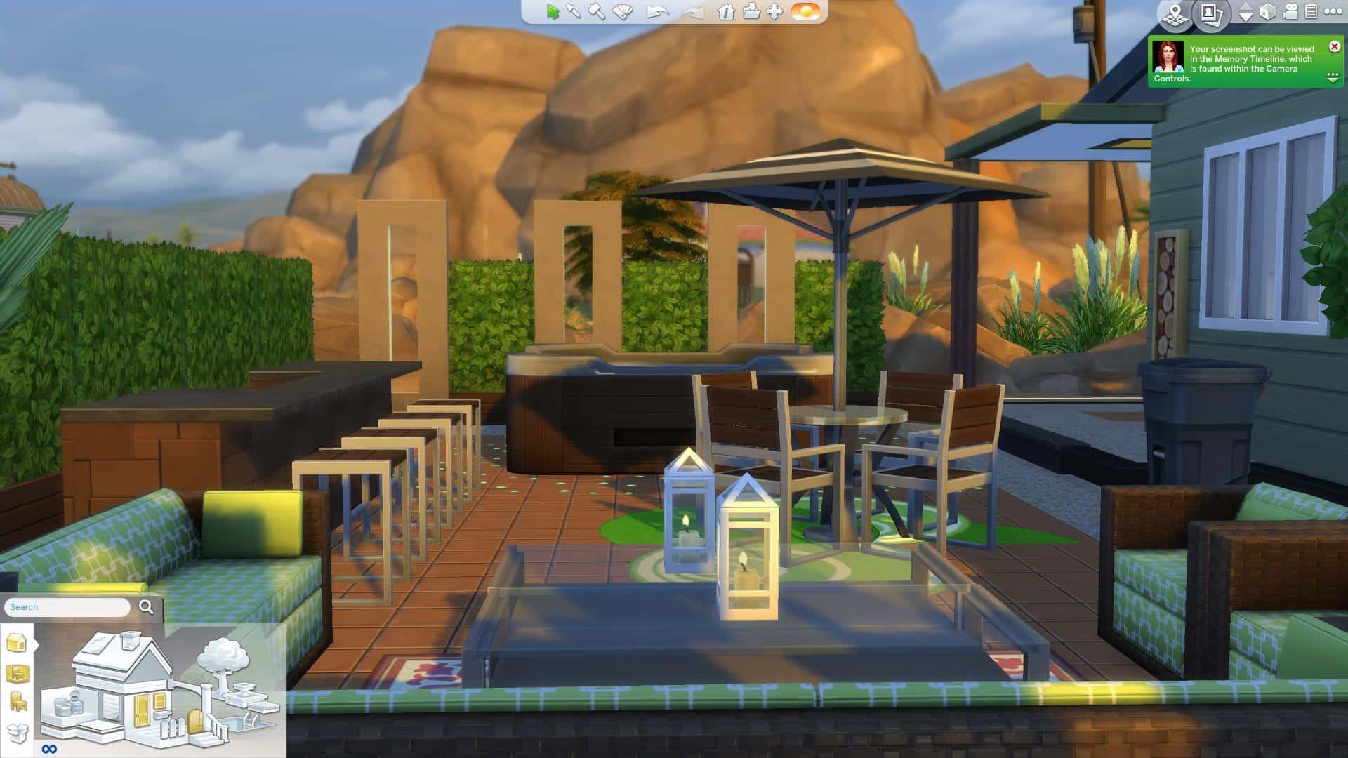 The Sims 4 Design Guide: Patio Decor