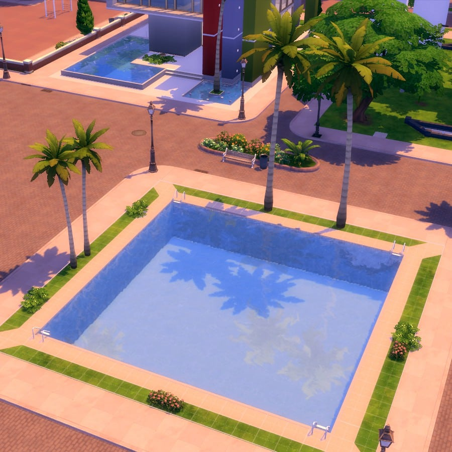 The Sims 4 Cool Pools Part 1 The Pond Pool