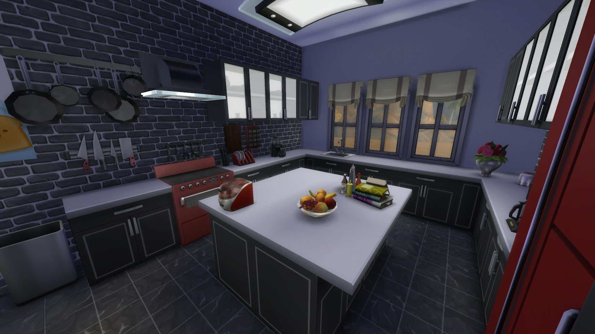 The Sims 4 Design Guide Modern Kitchen