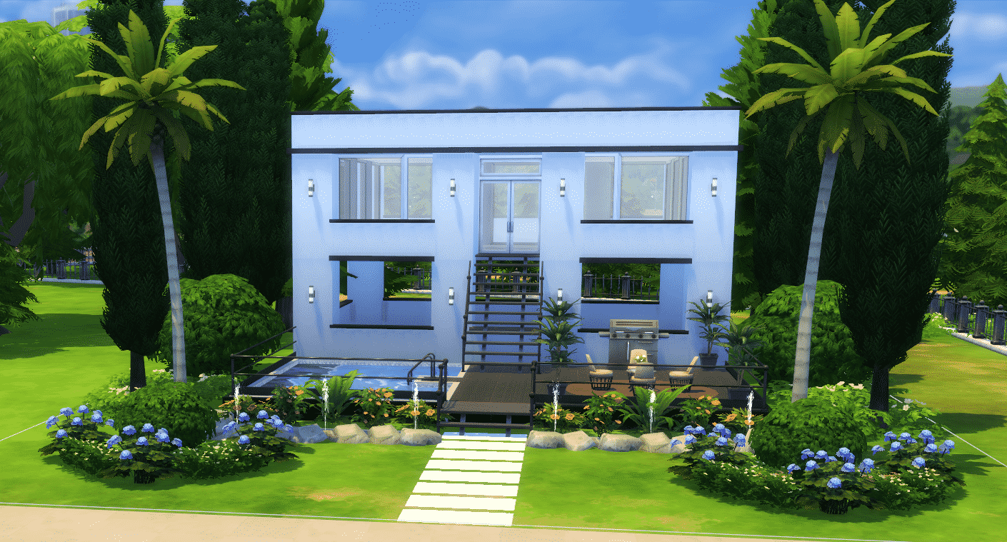 best of sims 4 house building small modernity the sims 4 how to build a simple modern house 356