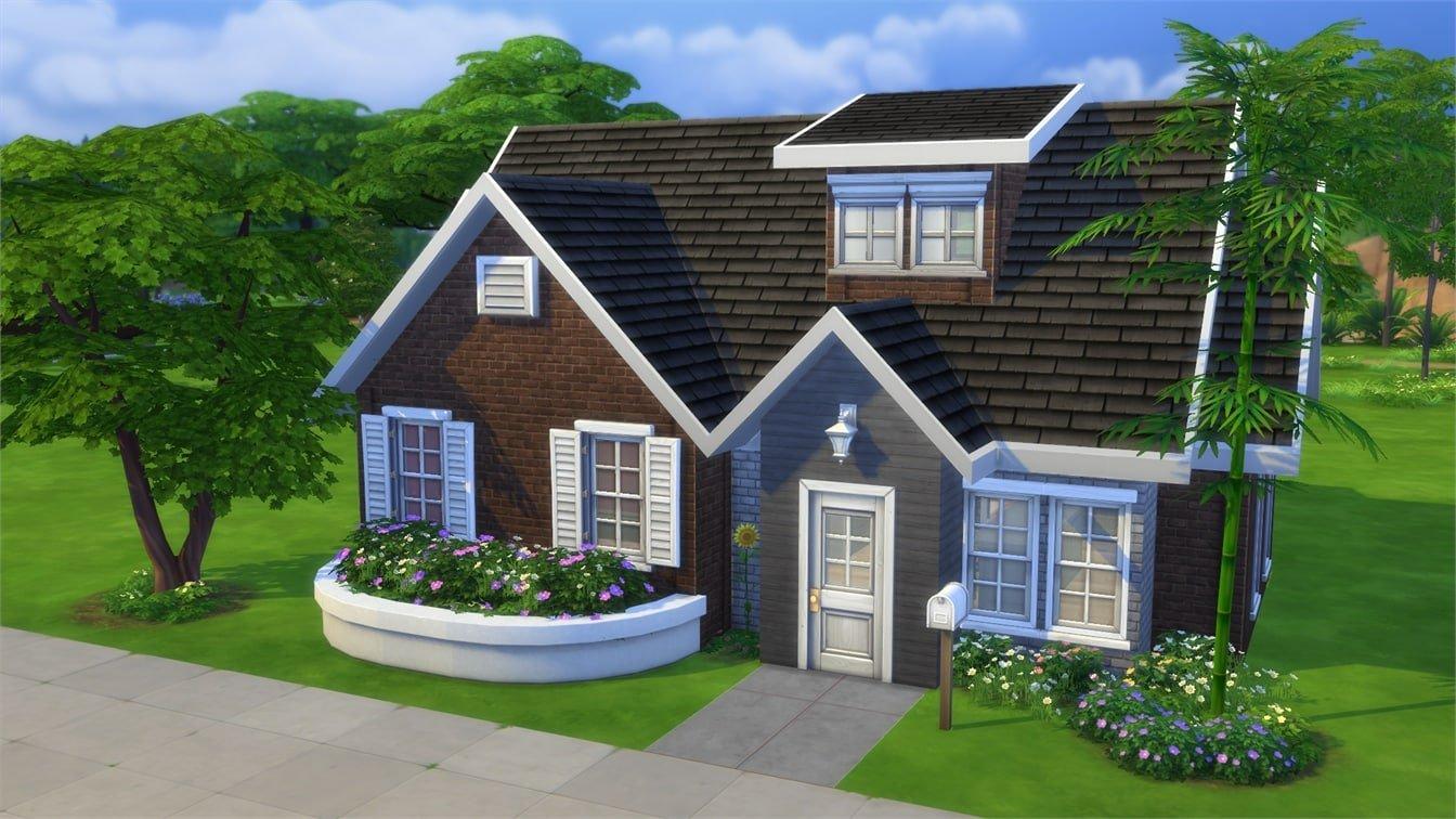 шоколадными маленькие дома в симс картинки вручную