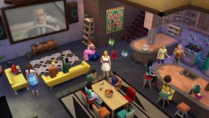 The Sims 4 Movie Hangout Stuff_ Official Trailer 057