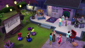 The Sims 4 Movie Hangout Stuff_ Official Trailer 096