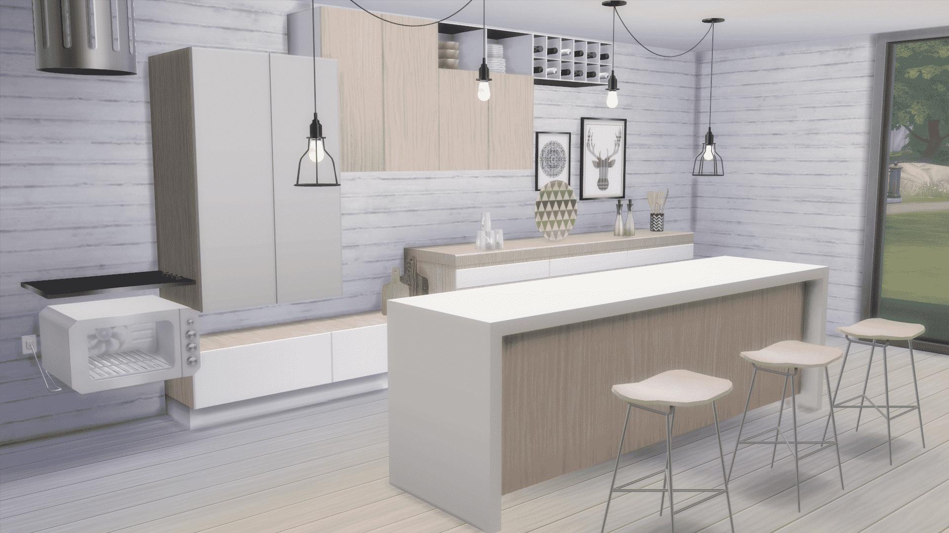 The Sims 4 Custom Content Spotlight Kitchen Sets