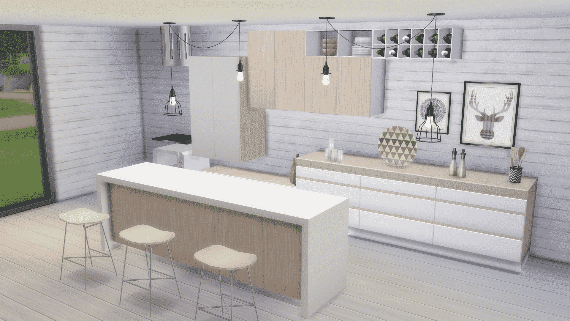 The Sims 4 Custom Content Spotlight Kitchen Sets