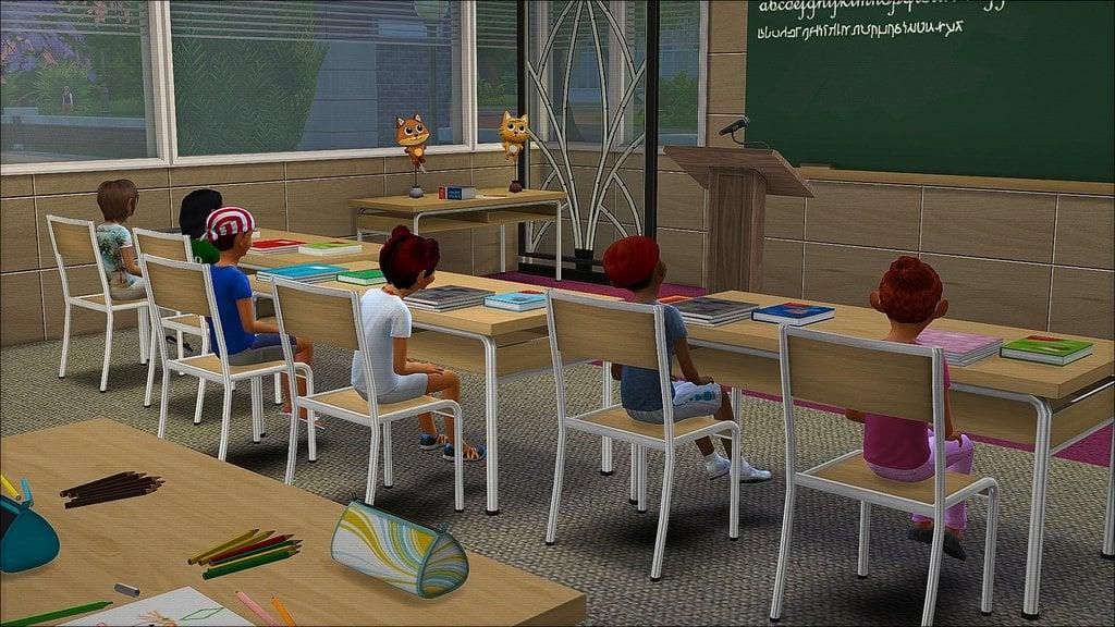 The Sims 4 Go To School Mod Zerbu Wants Your Feedback
