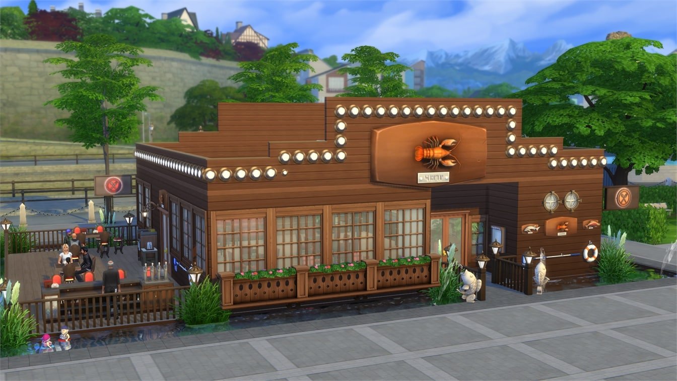 The Sims 4 Dine Out Gallery Spotlight Restaurants