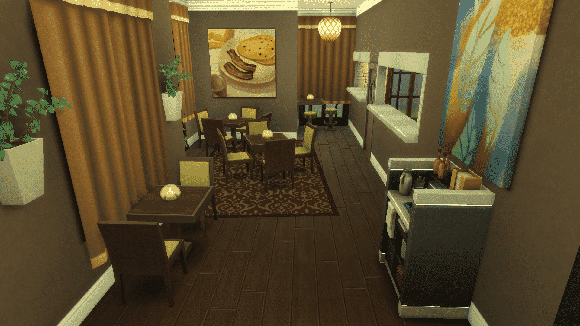 The Sims 4 Dine Out Decorating Your Restaurant S Interior