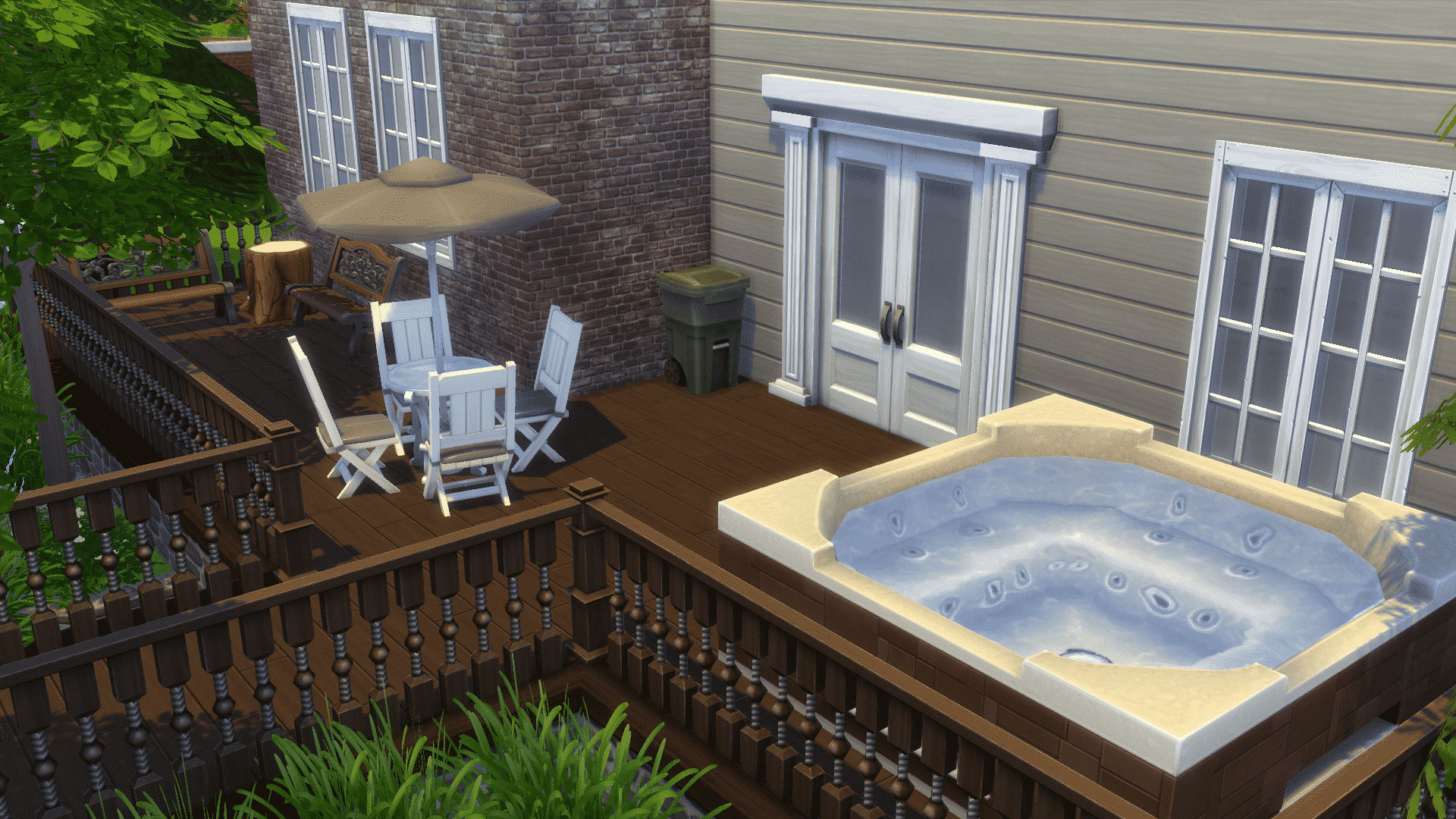 The Sims 4 Building Decorating Your Backyard