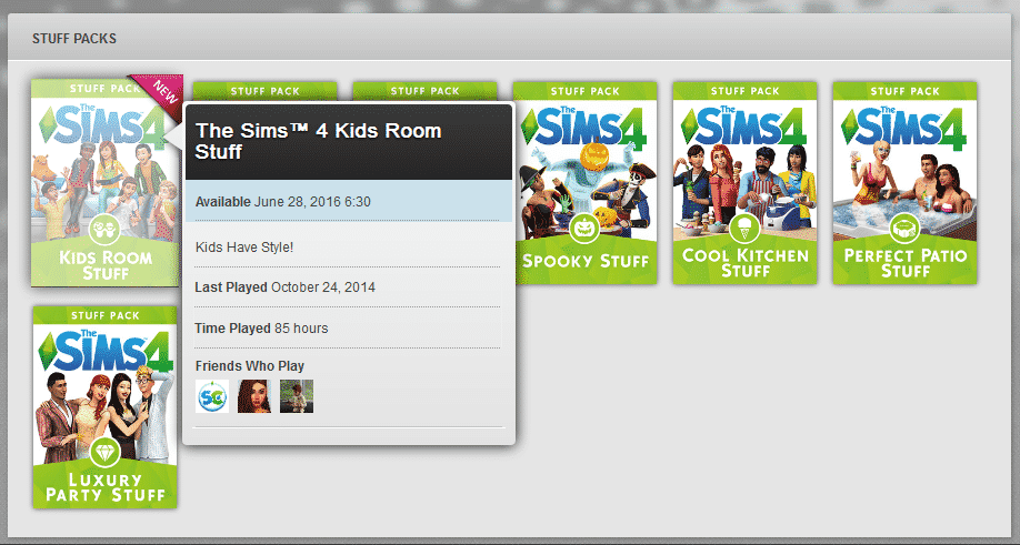 TagsKids Room Stuff Pack The Sims 4