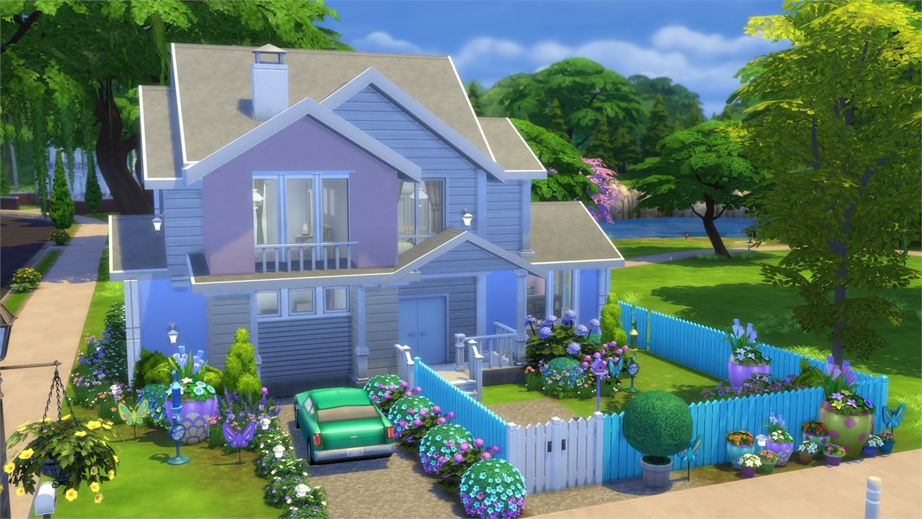 The Sims 4 Backyard Stuff Gallery Spotlight: Houses