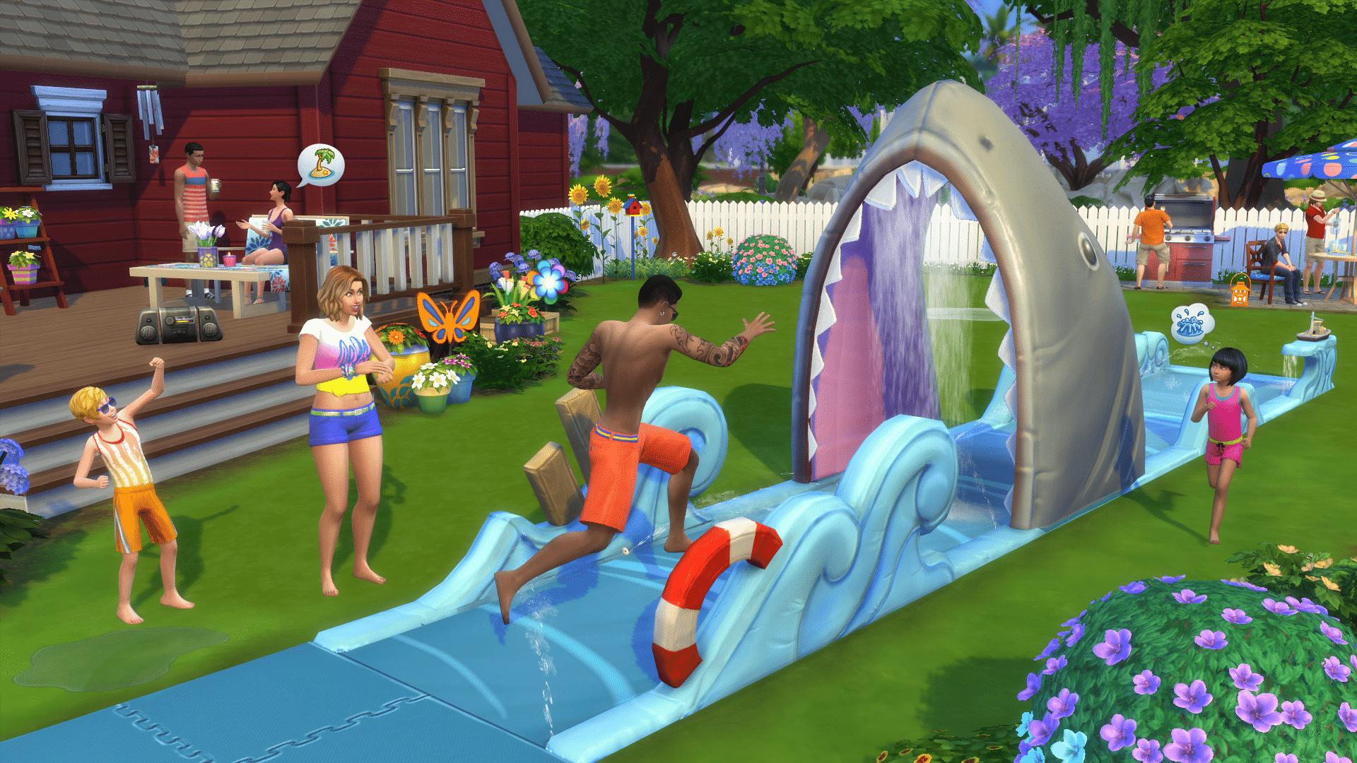 The Sims 4 Backyard Stuff: Official Logo, Renders, Screens ...