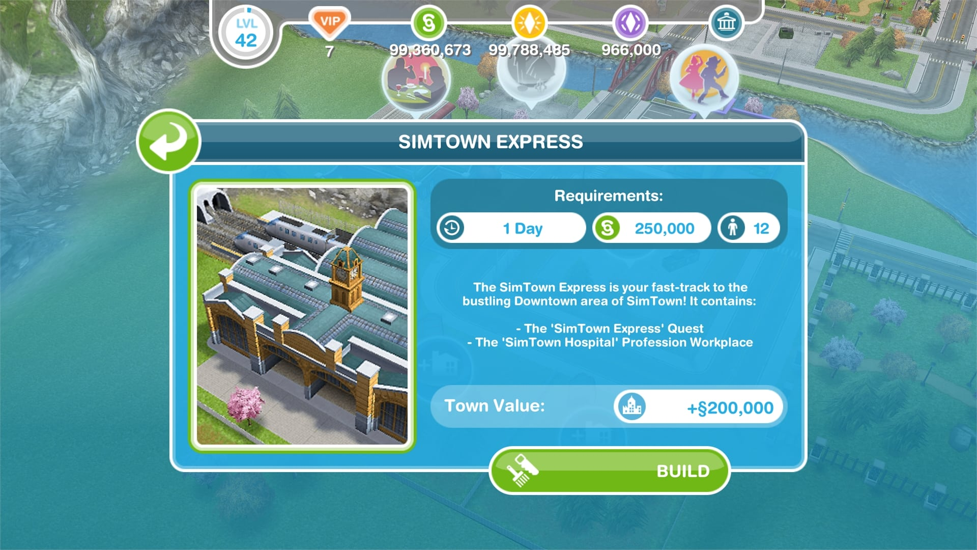 la forme Freeplay Sims une datation Görevi