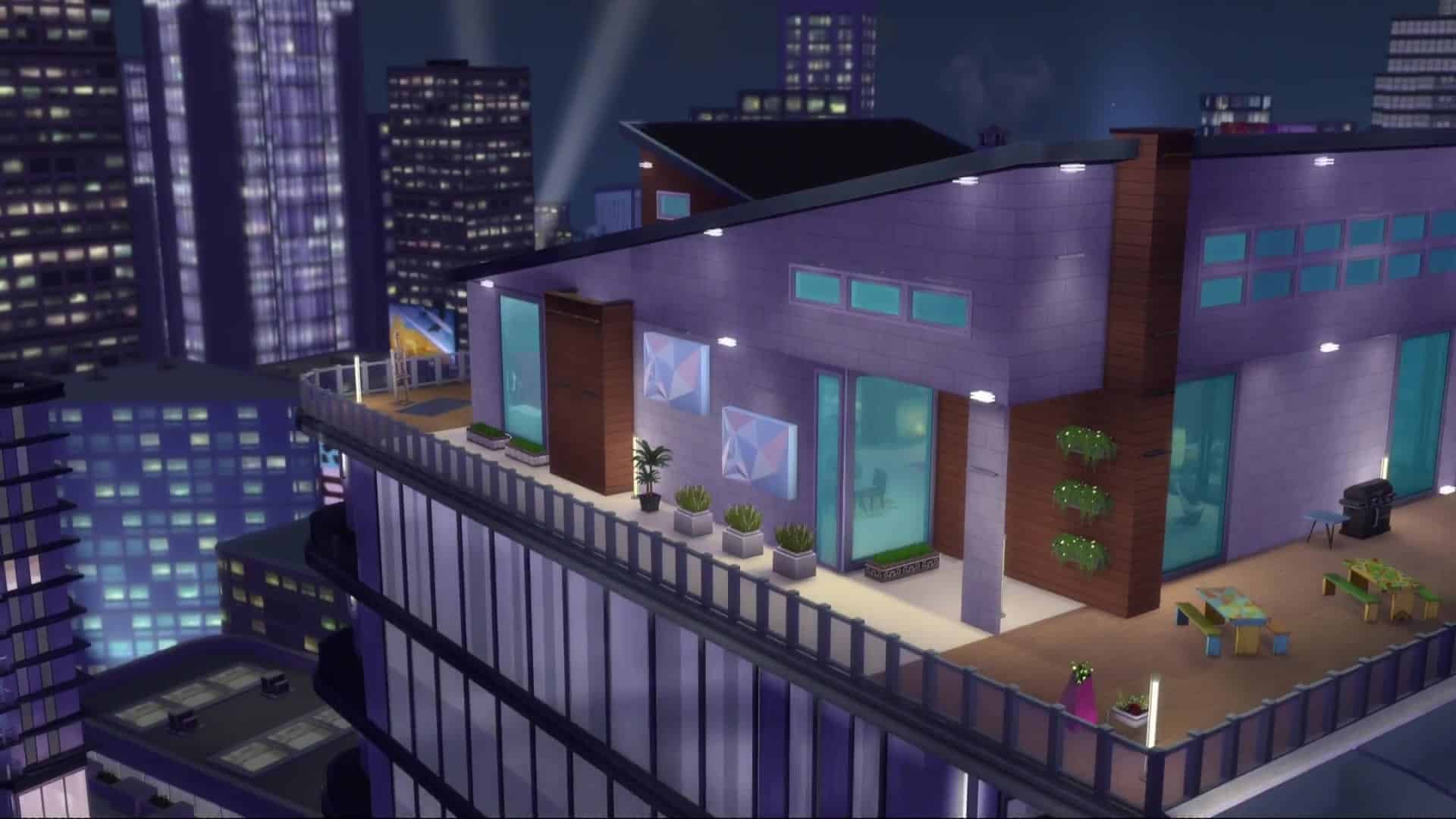 The Sims 4 City Living 109 Screens From The Apartments