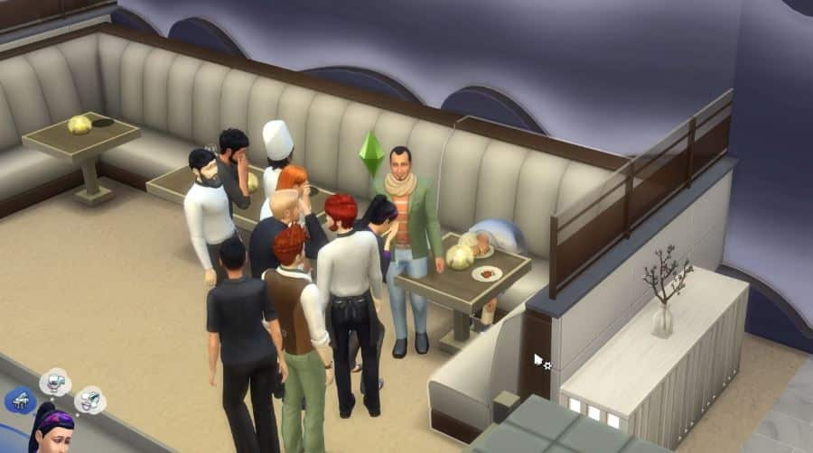 The Sims 4 City Living: Pufferfish Death Clip