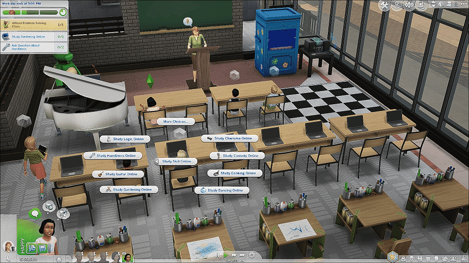 Go To School Mod Help? — The Sims Forums