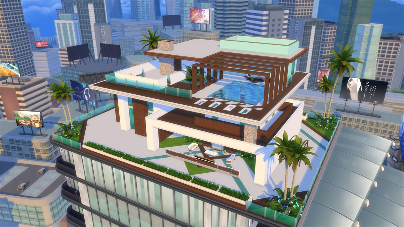 The Sims 4 City Living Gallery Spotlight: Penthouses Part 2