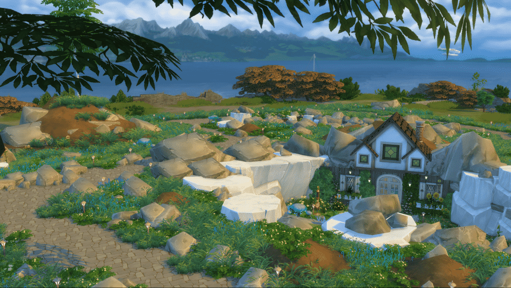 sims 4, sims 4 building, sims 4 landscape, sims 4 build tools, sims 4 building tutorial