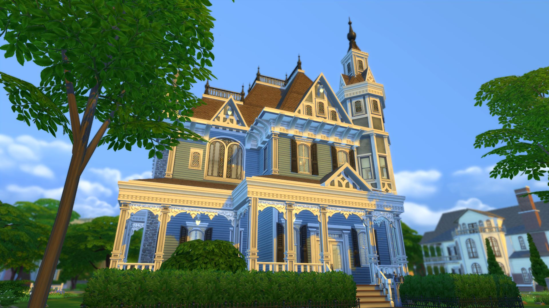 Three Styles Of Historical Architecture In The Sims 4
