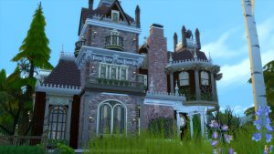 Sims 4 Historical Architecture Queen Anne