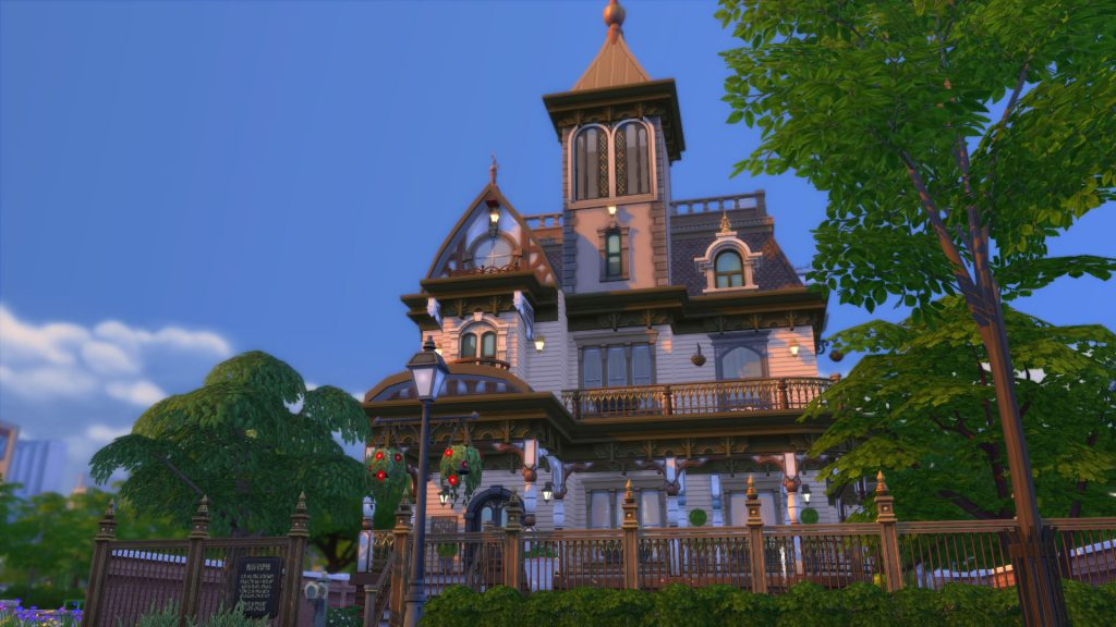 Sims 4 Historical Architecture Queen Anne Victorian