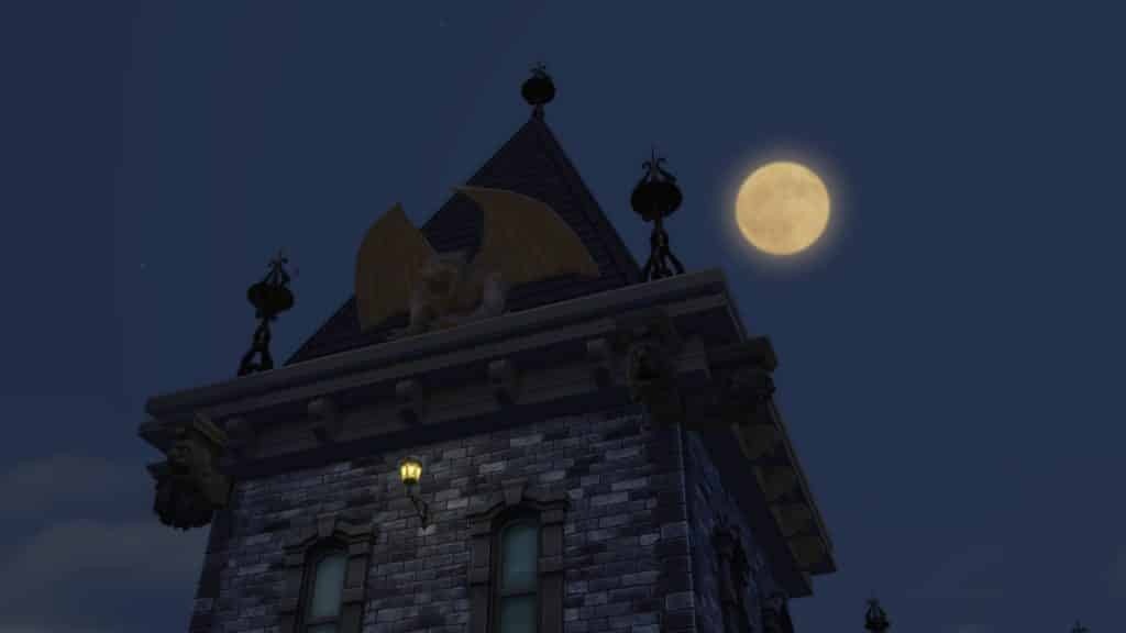 Sims 4 Vampire Decor Gargoyles