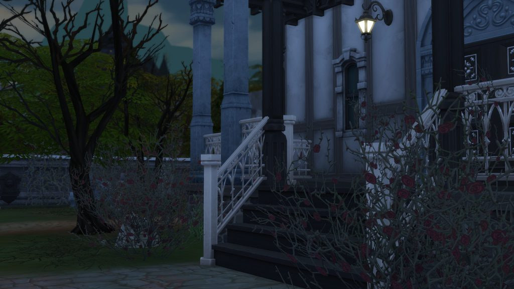Sims 4 Vampire Decor Dead Foliage