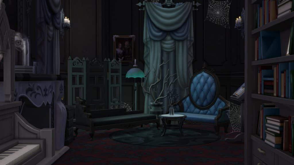 Sims 4 Vampire Decor Parlour