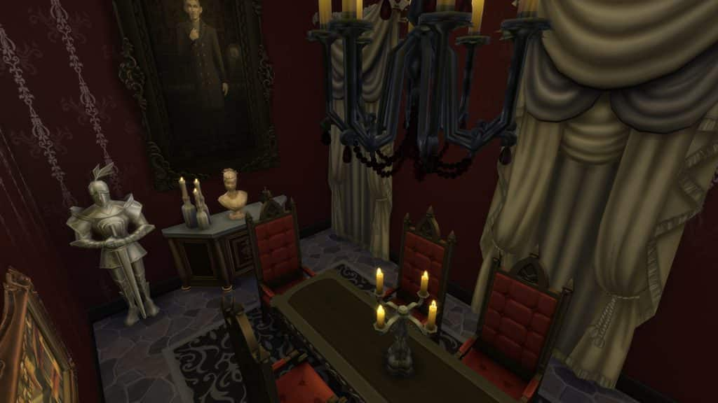 Sims 4 Vampire Decor Lighting