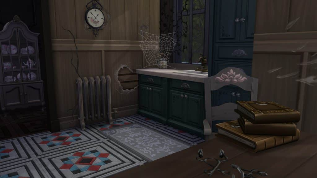 Sims 4 Vampire Decor Decaying kitchen